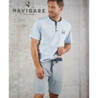 Navigare Pigiama Uomo Mezza Manica Pantaloncino Fresco Cotone B2141114