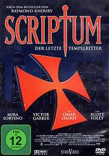 SCRIPTUM Der letzte Tempelritter Raymond Khoury , Mira Sorvino & Omar Sharif DVD