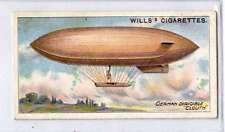 (Jd187-100)  Will's, Aviation , German Dirigible  , 1910, #21