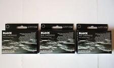 3 BLACK EPSON COMPATIBLE INK CARTRIDGES SX210 SX215 SX218 SX400 SX405 SX410