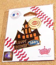 2007 Cincinnati Reds Halloween Haunted House lapel pin