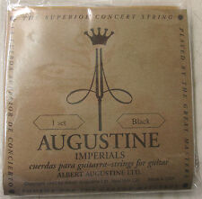 "Corde ""Augustine IMPERIAL BLACK"" 650447 in nylon per concerto-chitarra"