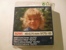 +++ NUOVO +++ 49mm ROWI duto-FILTRO sfocatura, OVP, 49mm +++ NUOVO +++