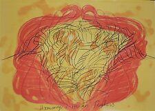 Lithographie Originale de Jean Messagier