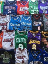 NIKE ADIDAS RBK CHAMPION LOT OF (20) NBA BASKETBALL JERSEY'S ALL YOUTH SIZE