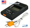 TM-902C Digital Sensor LCD Thermometer Single Input  K Type Thermocouple Probe