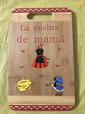 La Cosina  De Mama Wooden Cutting Board