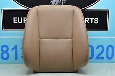 07-09 W221 MERCEDES S550 S400 FRONT DRIVER SEAT CUSHION UPPER BEIGE 2219100316