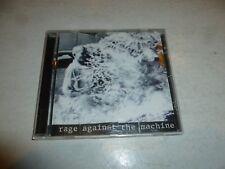 RAGE AGAINST THE MACHINE - Rage Against The Machine - 1992 UK 10-track CD album
