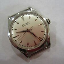 VINTAGE TISSOT AUTOMATIC BUMPER MOVEMENT MENS WATCH NEW ORIGINAL DIAL AND GLASS,