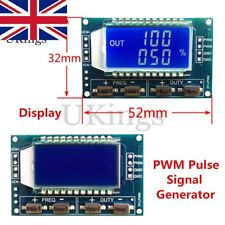 Signal Generator PWM Pulse Frequency Duty Cycle Adjustable Module LCD Display K
