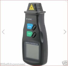 Digital LCD Display Laser Tachometer Non Contact RPM Tachometer Tool Meter