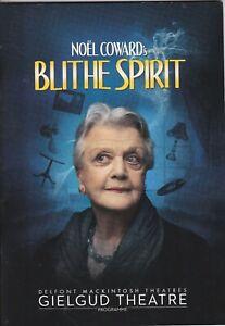 """ANGELA LANSBURY stars in Noel Coward's """"Blithe Spirit"""" - Gielgud Th.London 2014"""
