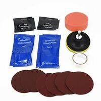Car Headlight Headlamp Plastic Lens Cleaning Restore Repair Polishing Tool Kit