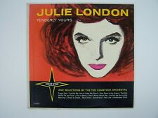 Julie London And The Ted Comstock Orchestra Tenderly Yours Vinyl LP Record Album