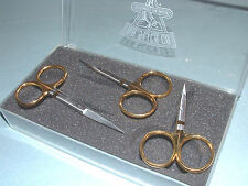 Dr Slick 3 Scissors Set Arrow Hair All Purpose Fly Tying Tools Gift Kit Fly Box