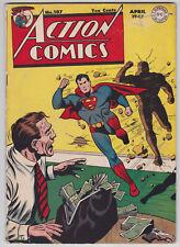 Action Comics #107 VG- 3.5 Superman Lois Lane Zatara Vigilante 1947!