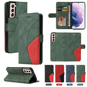 Klapp Handy-Hülle Magnet Kunstleder Tasche Schutzhüllen Case Cover Wallet Etui k