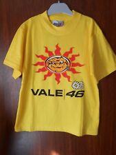 tee-shirt moto gp VALENTINO ROSSI 46 - jaune - taille 8 ans - ref2 - neuf