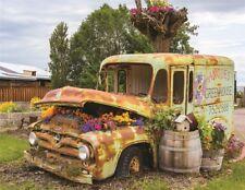 Springbok Flower Truck 500 Piece Jigsaw Puzzle