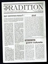 Vers la Tradition - Revue d'Action Traditionnelle du N°1 au 38 Symbolisme Maçon