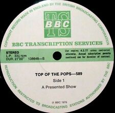 BBC TRANSCRIPTION- 589- SLIK, SHANGHAI, SLADE, BAD COMPANY, PROCOL HARUM 1976UK