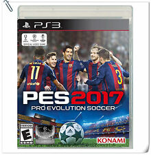 PS3 Pro Evolution Soccer PES 2017 SONY Konami Sports Games