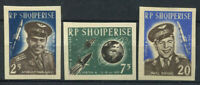 Albanien 1963 Mi. 731-733 Postfrisch 100% geschnitten Raum, Wostok 3
