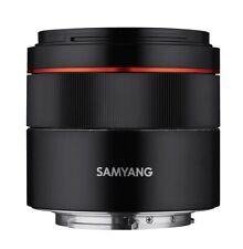 2019 NEW SAMYANG single focus standard lens AF45mm F1.8 FE full size for Sony αE