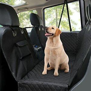 Waterproof Pet Dog Mat Car Rear Back Seat Protect Cover Zipper Non-Slip Hammock