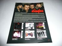 Stranglers - Two 1 Page and Two 2 Page Press Releases.