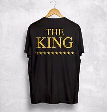 The King His Queen T Shirt Valentines Couple Husband Wifey Boyfriend Girlfriend