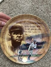 Babe Ruth - The 60th Homer - Bradford Exchange Collector Plate