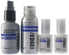 The Edge Quick Nails Acrylic Dipping Trial Kit 3g Glue Adhesive French DIP