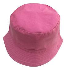 Adults Bucket Hat Summer Fishing Fisher Beach Festival Sun Cap 100% Cotton