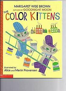 The Color Kittens Margaret Wise Brown