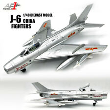 China J-6 Fighters 1/48 diecast  plane model aircraft AF1
