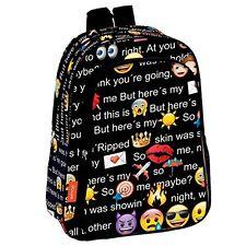 Emoji Mochila infantil escolar, niño // Children Backpack