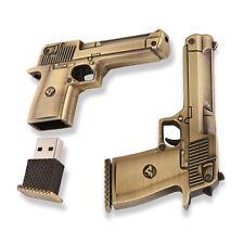 32Go USB 2.0 Clé USB Clef Mémoire Flash Data Stockage / Révolver Pistolet II