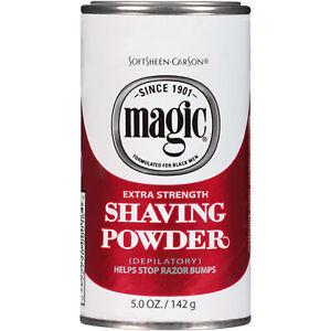 SoftSheen Carson Magic Extra Strength Shaving Powder 5 oz