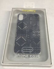 heyday Apple iPhone 6/7/8 Plus Printed Lace Case Purple Clear