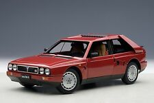 New Listing1985 Lancia Delta S4 Red Plain 1:18 by Autoart #74771 Brand New Special Auction