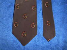 GUCCI VINTAGE ORIGINAL SILK TIE HAND SEWN EXQUISITE!  MADE IN ITALY
