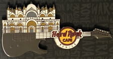 Hard Rock Cafe VENICE 2017 San Marco Cathedral Guitar PIN on CARD - HRC #97508