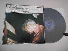 LP Klassik Helmuth Rilling - JS Bach : Orgelmeisterwerke (5 Song) DENON JAPAN