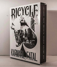 Bicycle Karnival Fatal Playing Cards Deck and Murphy's Magic