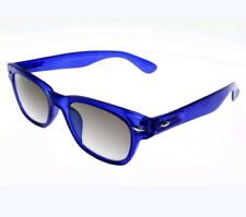 Glasses Reading MAGNIFIER SUN WOODY SUN BLUE case p41