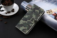 Funda flip libro piel sintetica estampado portatarjetas BQ Aquaris E5 4G,E5S
