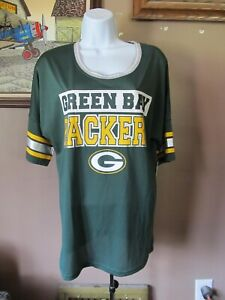 GREEN BAY PACKERS/NFL Youth Apparel Girls Pullover Jersey/Top~Large (11/13)~NWT!