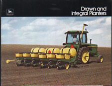 1975 John Deere Tractor Drawn and Integral Planters Brochure